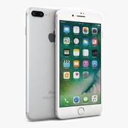 苹果iPhone 7 Plus银色 3d model