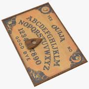 Ouija Board 01 3d model