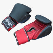 Rękawice bokserskie Realistyczne 3d model