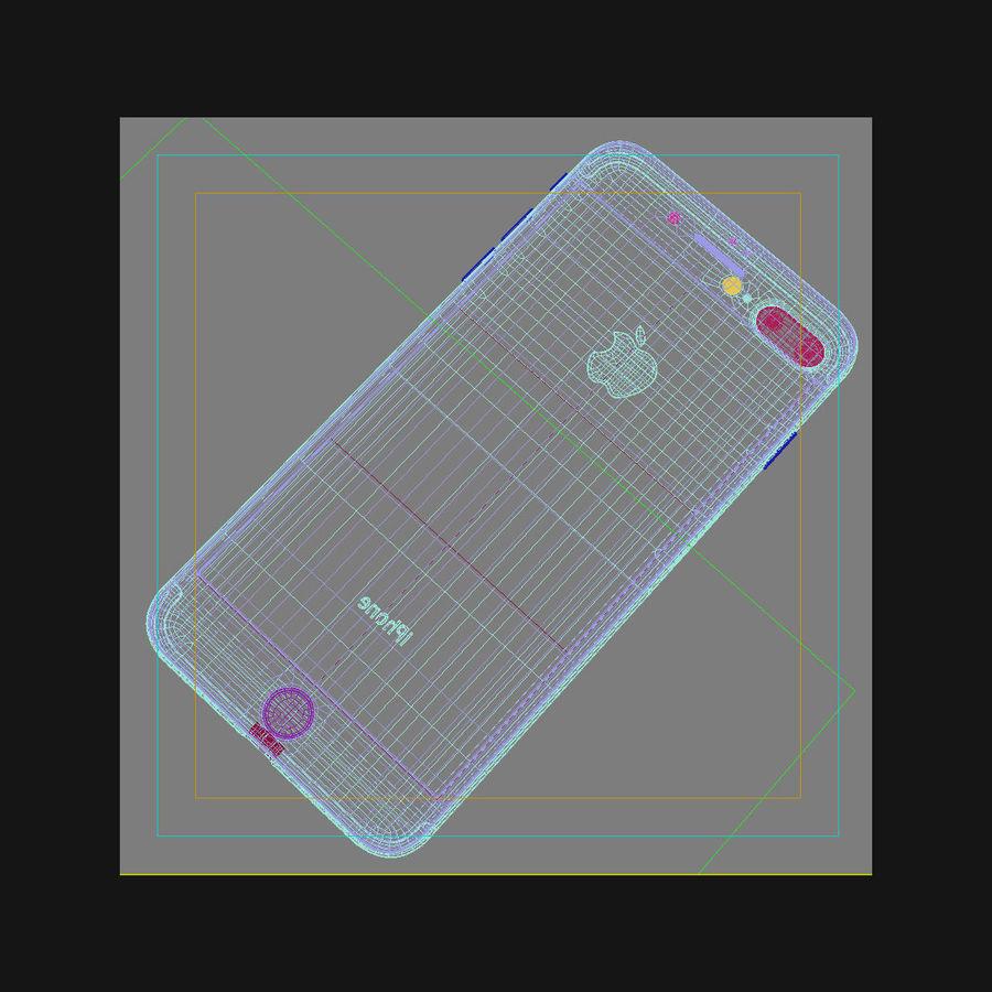 Apple iPhone 7 Artı Gül Altın royalty-free 3d model - Preview no. 45
