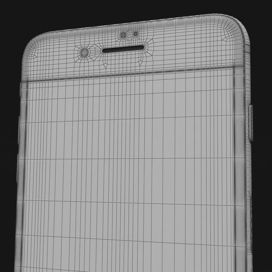 Apple iPhone 7 Artı Gül Altın royalty-free 3d model - Preview no. 39