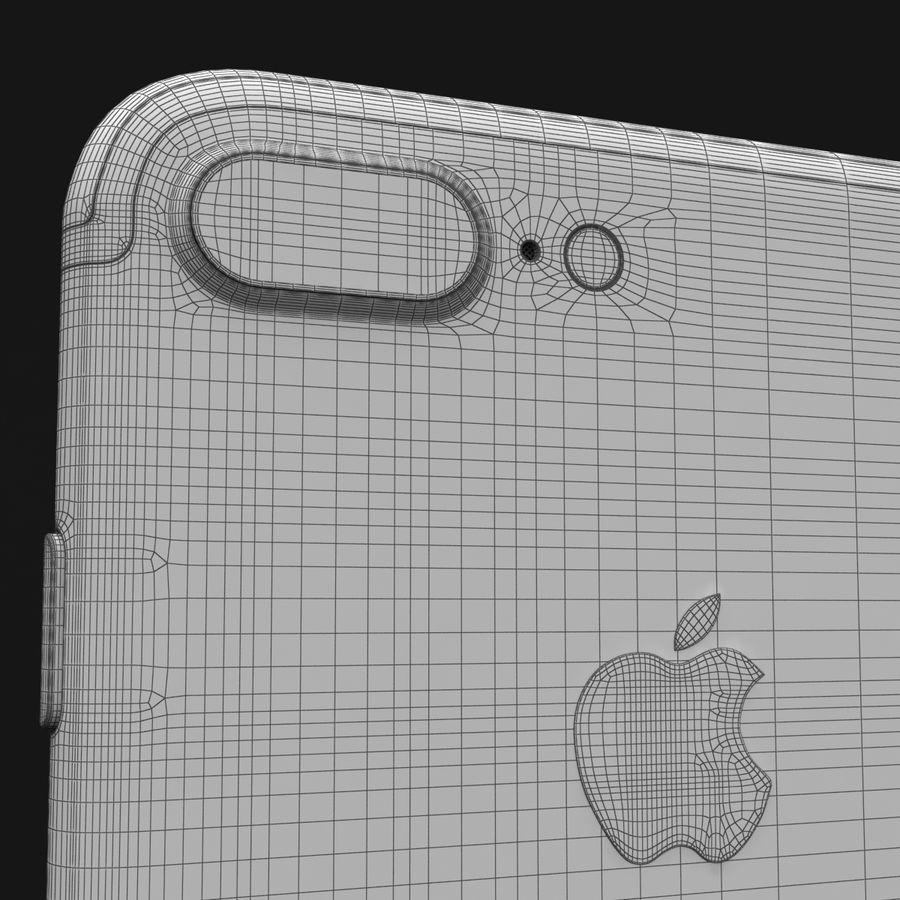 Apple iPhone 7 Artı Gül Altın royalty-free 3d model - Preview no. 33