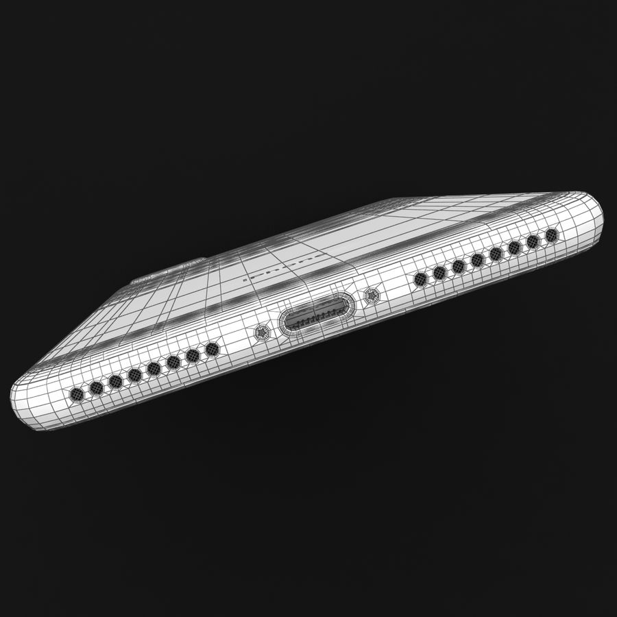 Apple iPhone 7 Artı Gül Altın royalty-free 3d model - Preview no. 38
