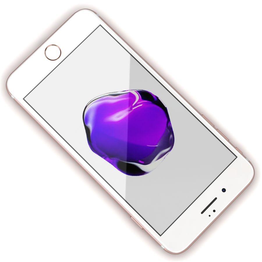Apple iPhone 7 Artı Gül Altın royalty-free 3d model - Preview no. 8