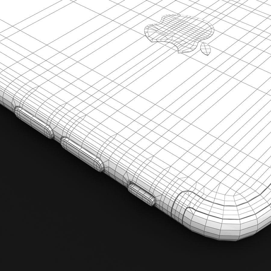 Apple iPhone 7 Artı Gül Altın royalty-free 3d model - Preview no. 42