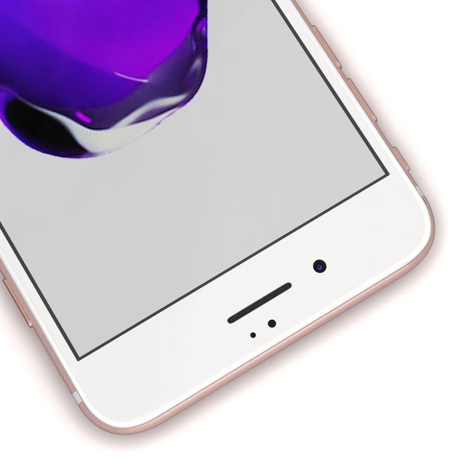 Apple iPhone 7 Artı Gül Altın royalty-free 3d model - Preview no. 10