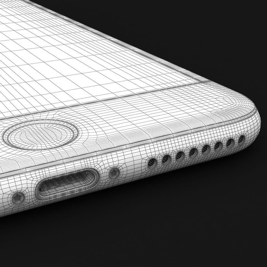 Apple iPhone 7 Artı Gül Altın royalty-free 3d model - Preview no. 43