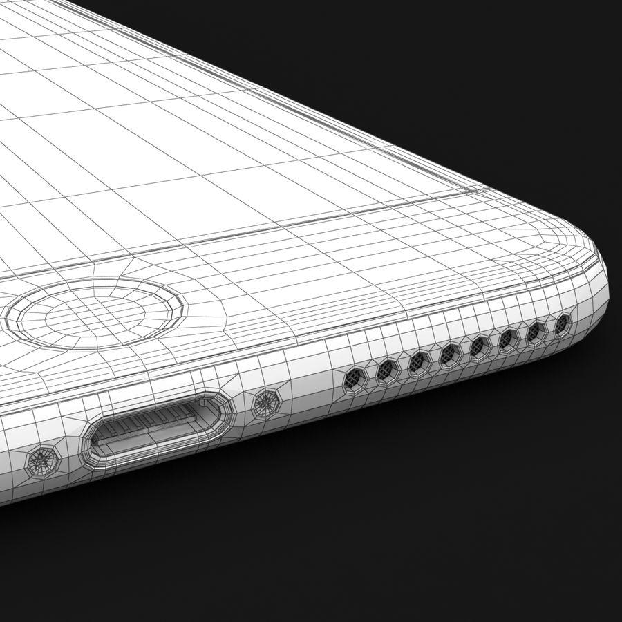 Apple iPhone 7 Artı Gül Altın royalty-free 3d model - Preview no. 44