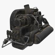 Buggy Engine 3d model