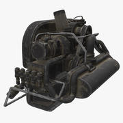 Buggy Engine 3d model