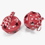 Christmas Bells 3d model
