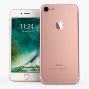 Apple iPhone 7 Rosegold 3d model