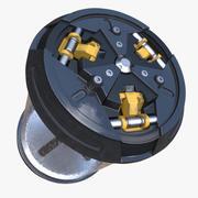 Dispositivo de contenedor de antimateria de ciencia ficción 2 modelo 3d