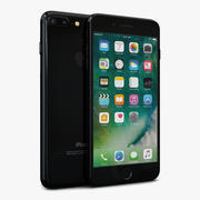 Apple iPhone 7 Plus Jet Black 3d model