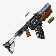 特撮ライフル 3d model