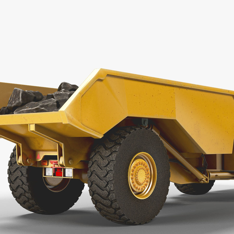 Mining Underground Truck royalty-free 3d model - Preview no. 12