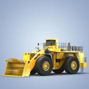 Komatsu  Wheel  Loader  WA1200 3d model