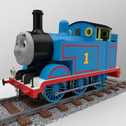 Thomas die Lokomotive 3d model