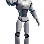 Mannelijke Android 3d model
