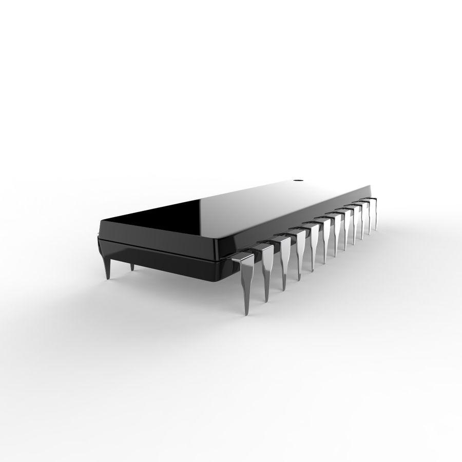 Collezione di componenti elettronici royalty-free 3d model - Preview no. 13