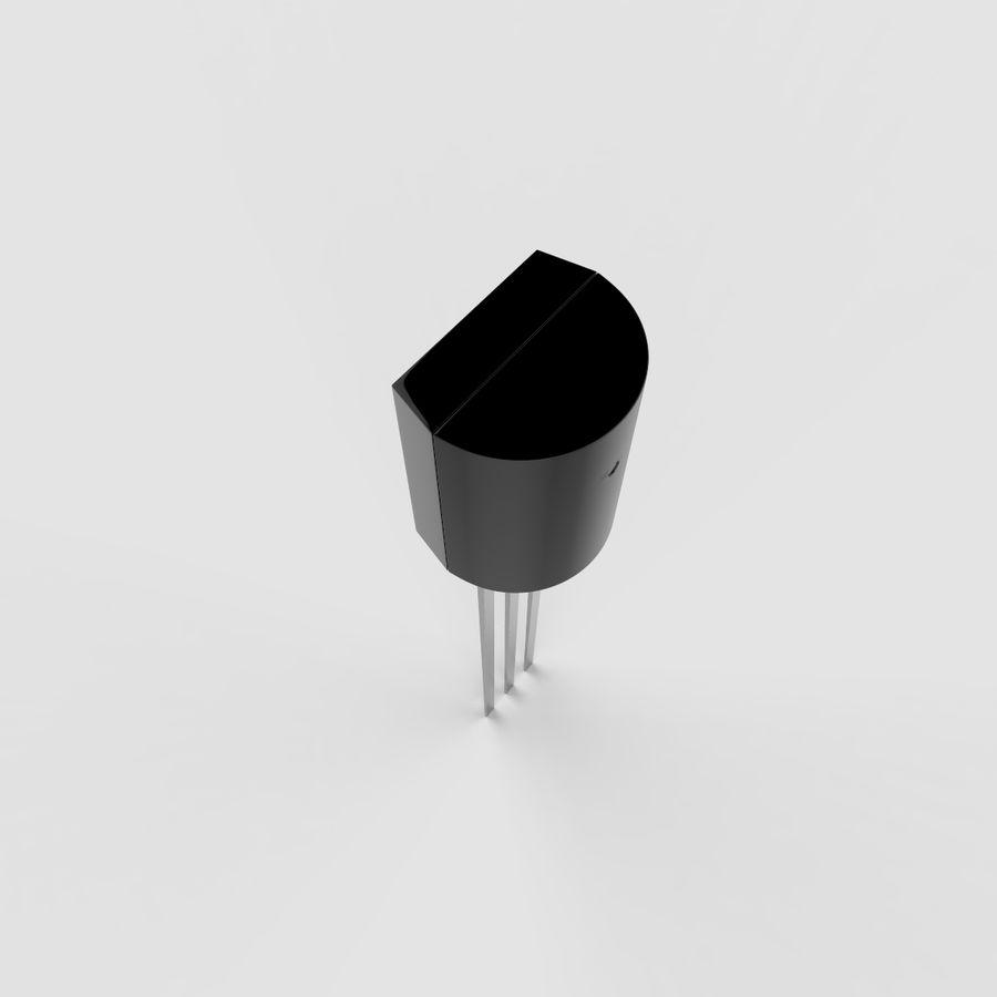 Collezione di componenti elettronici royalty-free 3d model - Preview no. 39