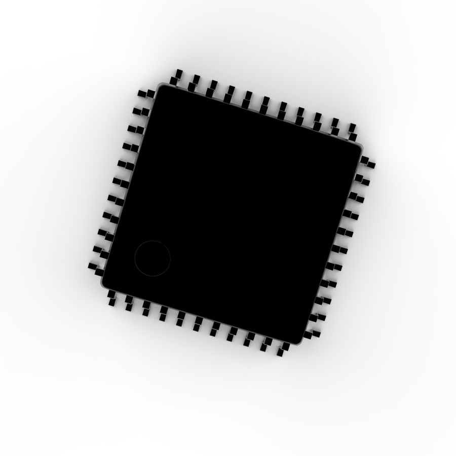 Collezione di componenti elettronici royalty-free 3d model - Preview no. 23