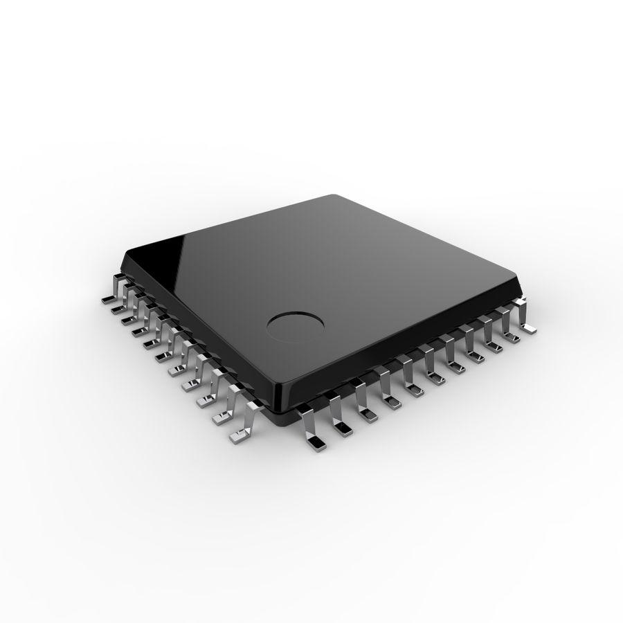 Collezione di componenti elettronici royalty-free 3d model - Preview no. 22