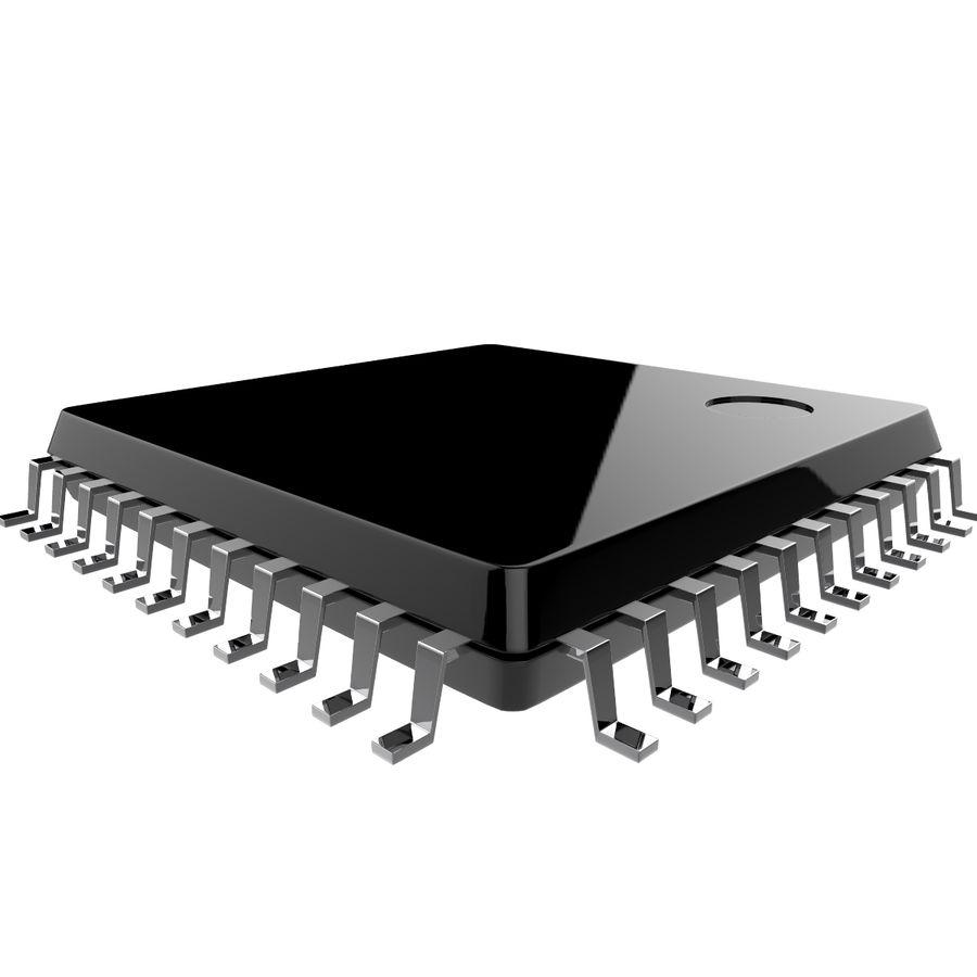 Collezione di componenti elettronici royalty-free 3d model - Preview no. 26