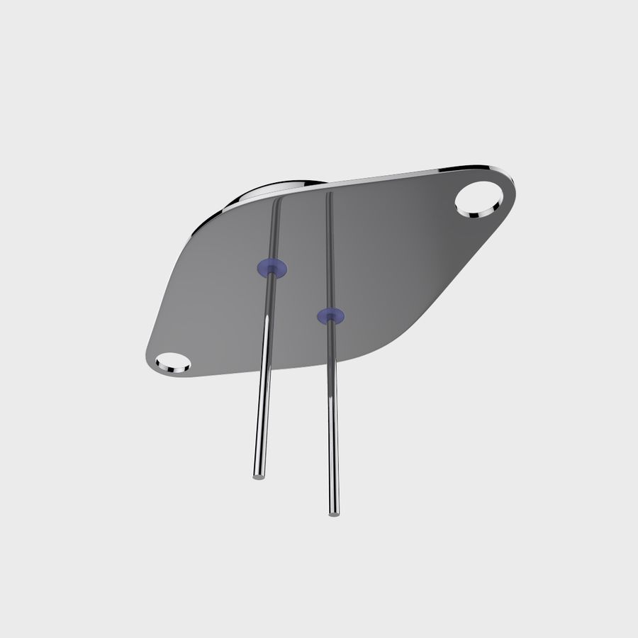 Collezione di componenti elettronici royalty-free 3d model - Preview no. 46