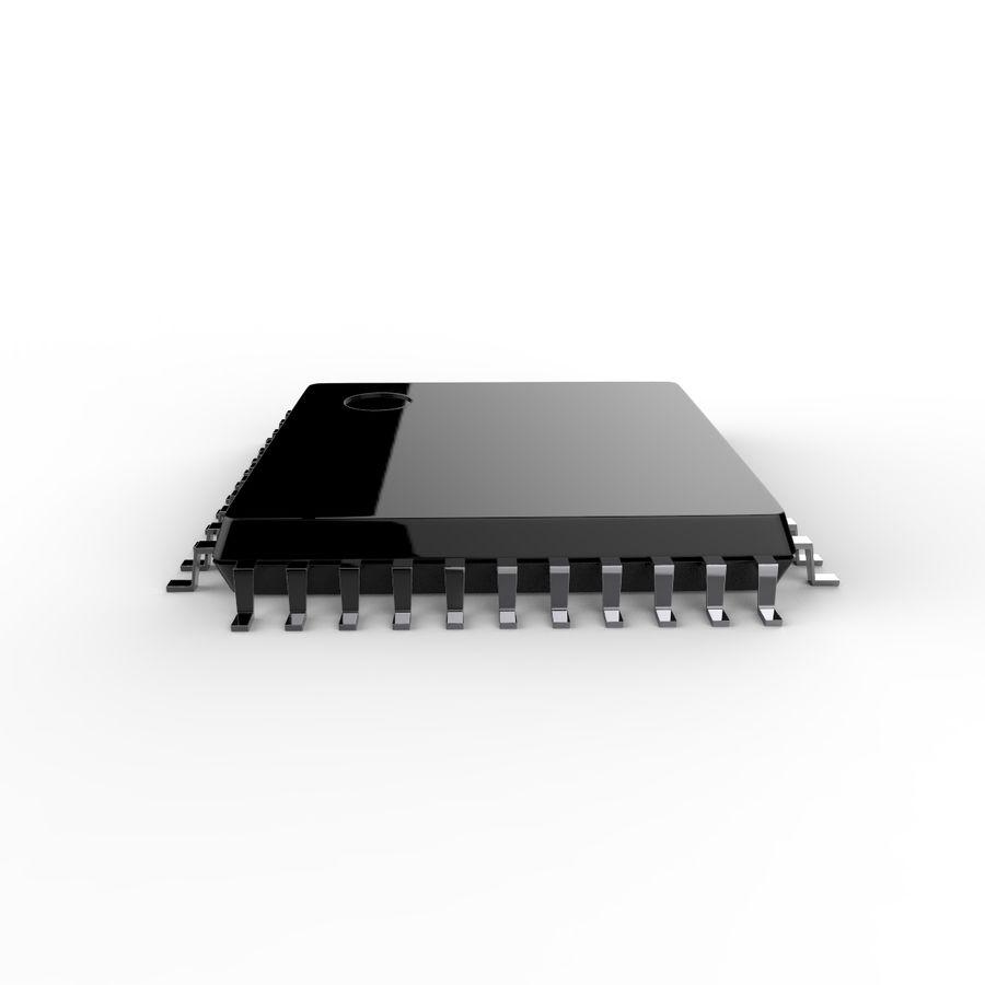 Collezione di componenti elettronici royalty-free 3d model - Preview no. 24