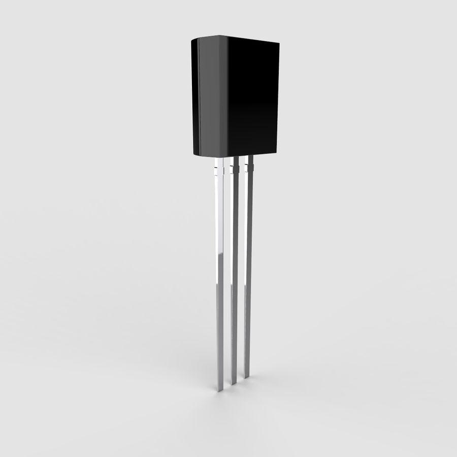 Collezione di componenti elettronici royalty-free 3d model - Preview no. 36