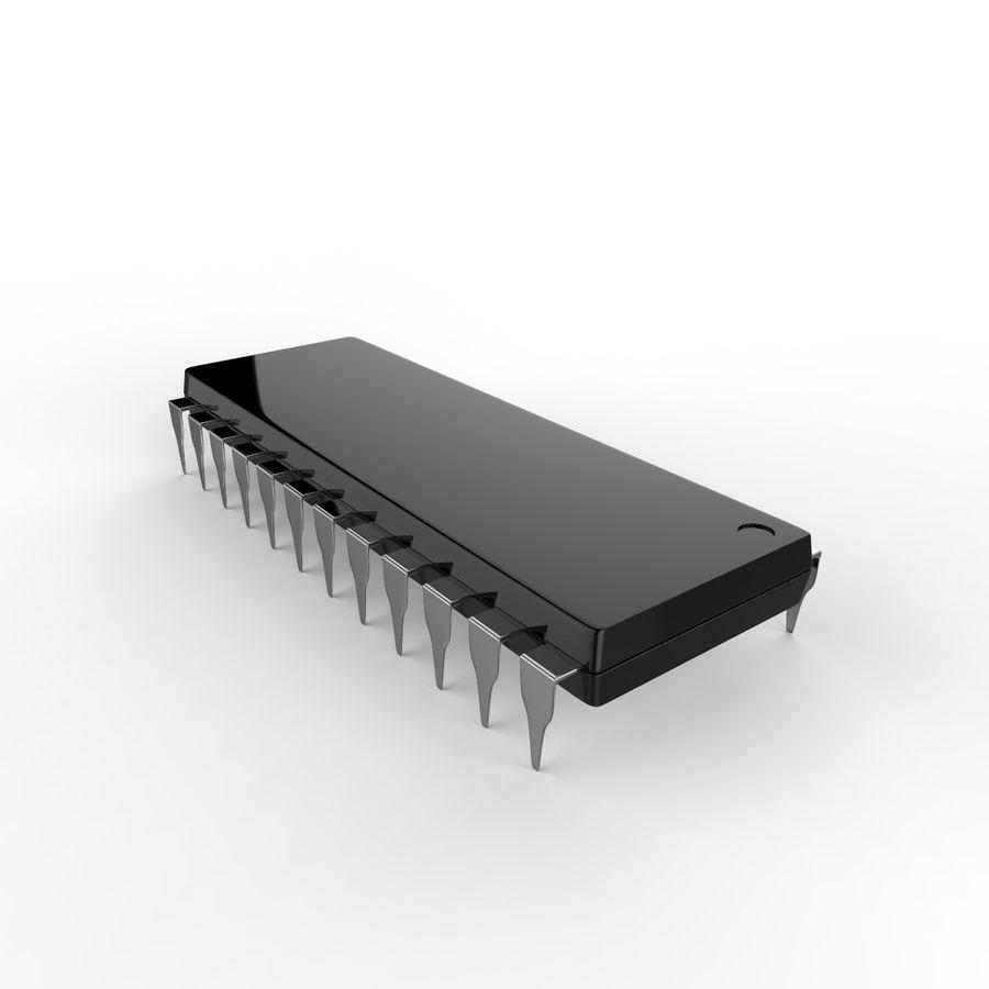 Collezione di componenti elettronici royalty-free 3d model - Preview no. 11