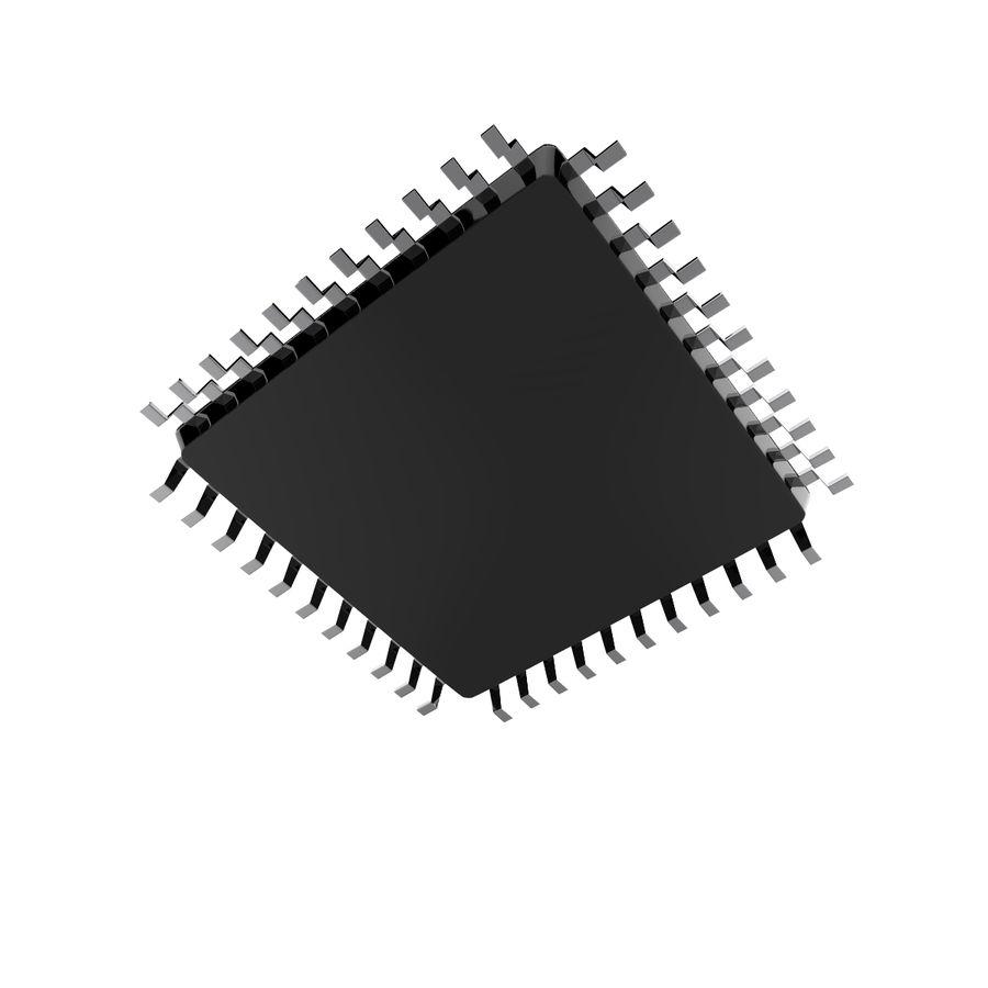 Collezione di componenti elettronici royalty-free 3d model - Preview no. 25
