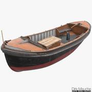 ligplaats boot 3d model