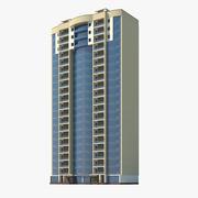 城市建筑 3d model
