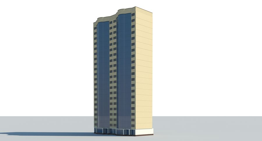 City  Building royalty-free 3d model - Preview no. 5