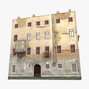 ヴェネツィアイタリアの古い家4 3d model
