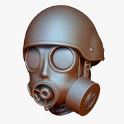 Capacete Gas Mask S10 & AC900 3d model