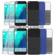 Colección Google Pixel y Pixel XL modelo 3d