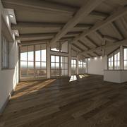 蒂罗尔阁楼公寓01 3d model
