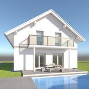 Casa della famiglia 18 3d model