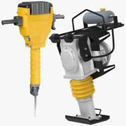 Tamper & Jackhammer 3d model