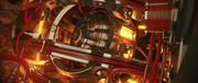 Sci-Fi-ロボットハートまたは宇宙船エンジンコア 3d model