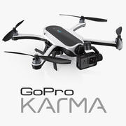 GoPro Karma Drone and HERO5 3d model