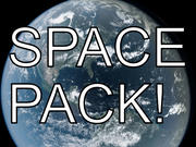 Sci - Fi - Space Pack - Earth, Sun, Mars, Asteroid Scenes 3d model