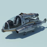 Flying Vehicle concept 3d model