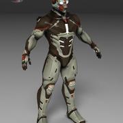 Zeke strain 3d model