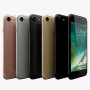 Apple iPhone 7 todos los colores modelo 3d
