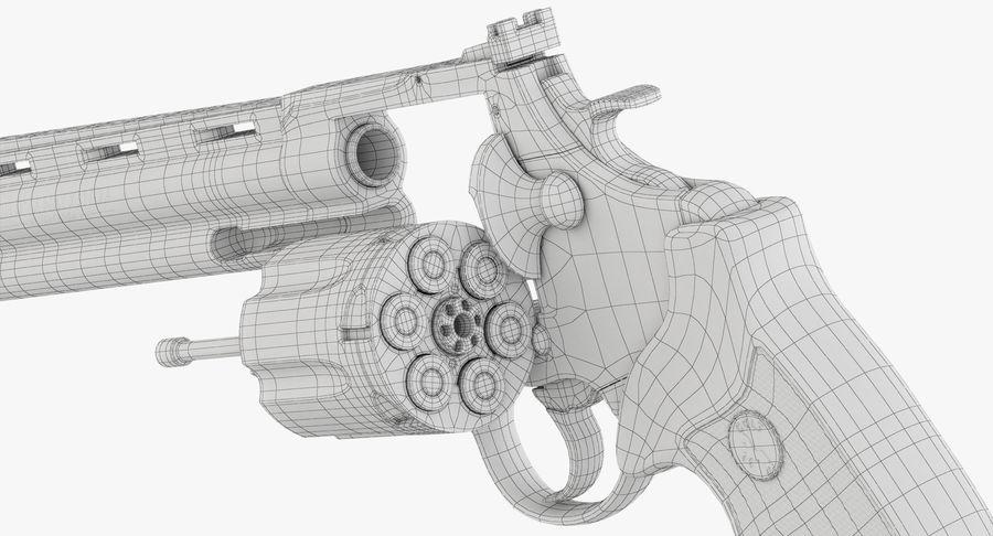 Revolver Colt Anaconda royalty-free 3d model - Preview no. 50