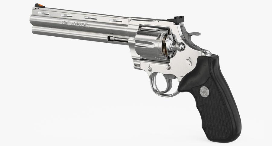Revolver Colt Anaconda royalty-free 3d model - Preview no. 14